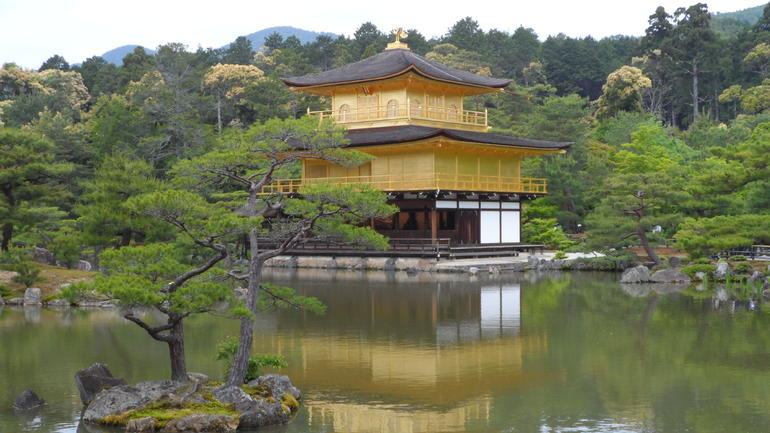 Golden Pavilion - Osaka