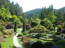 The Butchart Gardens - one of the world wonders , Yelena F - June 2012