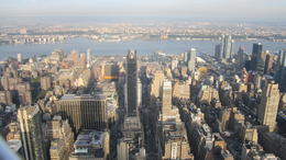 From the 86th floor observation deck of the Empire State Bldg , Steven H - October 2013