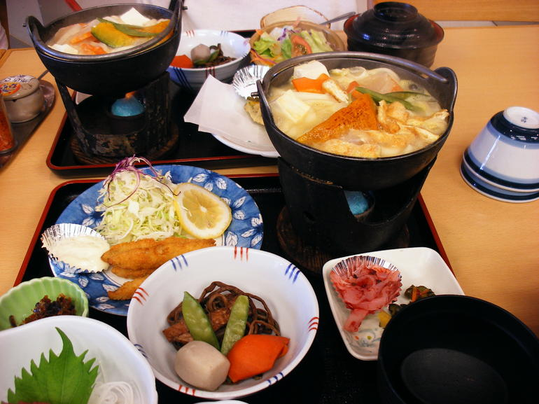Lunch at Lake Ashi - Tokyo
