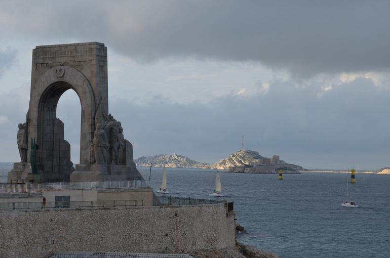 Marseille - Lieutenant Dejaume Square - Marseille
