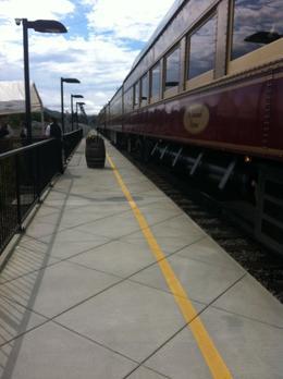 The train, Kierra - August 2014