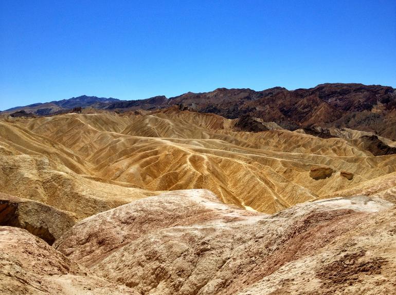 Sand Dunes in Death Valley - Las Vegas