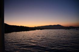 Slowly sailing into the bay at Sausalito. The picture doesn't do the colours justice!! , Donna C - September 2014