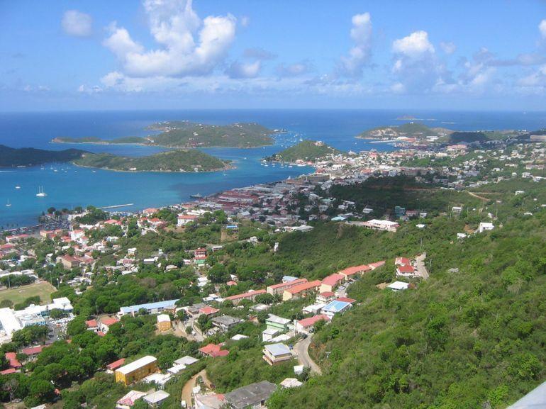 St Thomas hillside - St Thomas