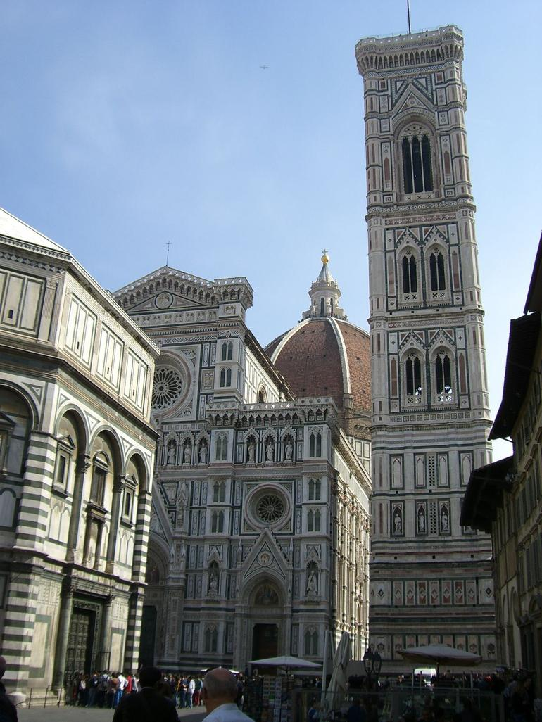 The Baptistery and Duomo - Florence