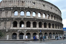 In Front of the Coloseum , Robert K - May 2014