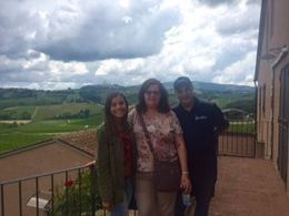 Family enjoying Tuscan winery - Happy Father's Day! , helen.ferraro - July 2016
