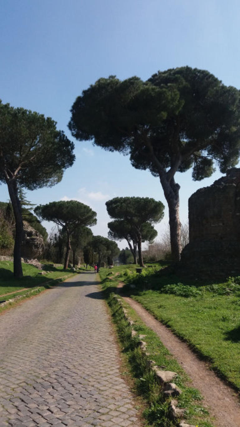 Ancient Appian Way, Catacombs and Roman Aqueducts Electric-Assist Bicycle Tour photo 13