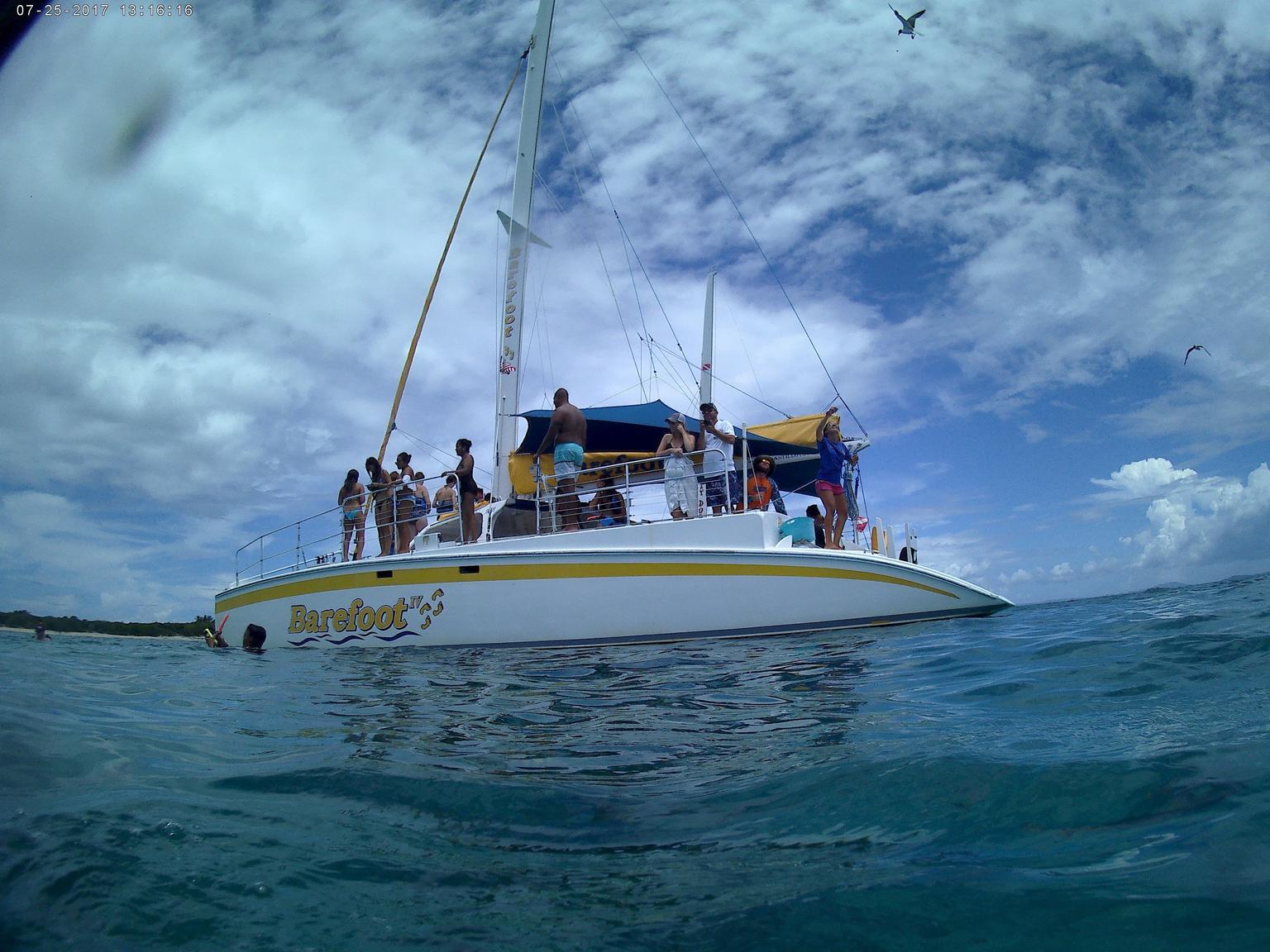 MÁS FOTOS, From Fajardo: Icacos Deserted Island Catamaran & Picnic Cruise