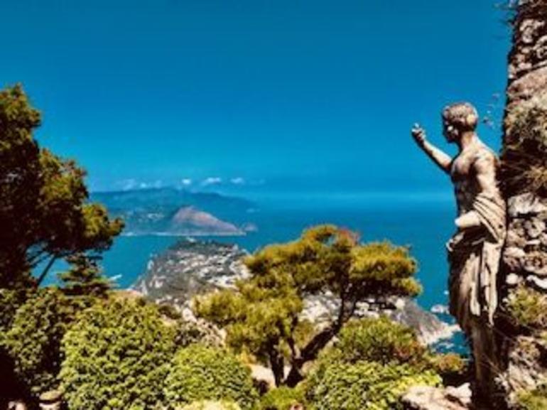 Private Tour: Sorrento to Capri Cruise