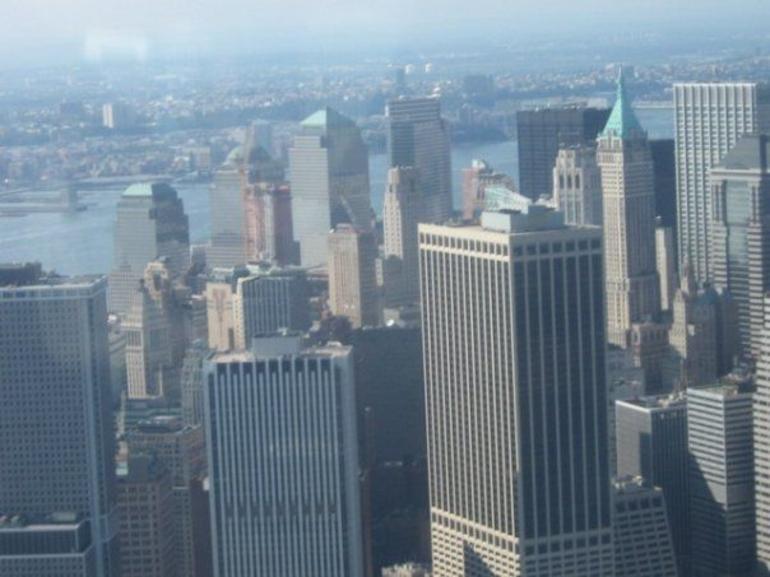 Closer skyline shot - New York City