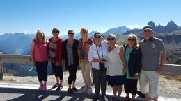 This is the entirety of our small group tour. The center 6 is our group. The other two were a very nice couple from England. We all had a fantastic time in these awesome mountains. Well all have..., Mlehman10 - October 2016