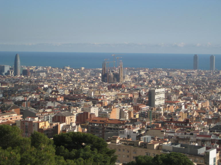 From Park Guell - Barcelona