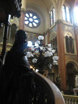 Another picture inside the church., Bandit - June 2012