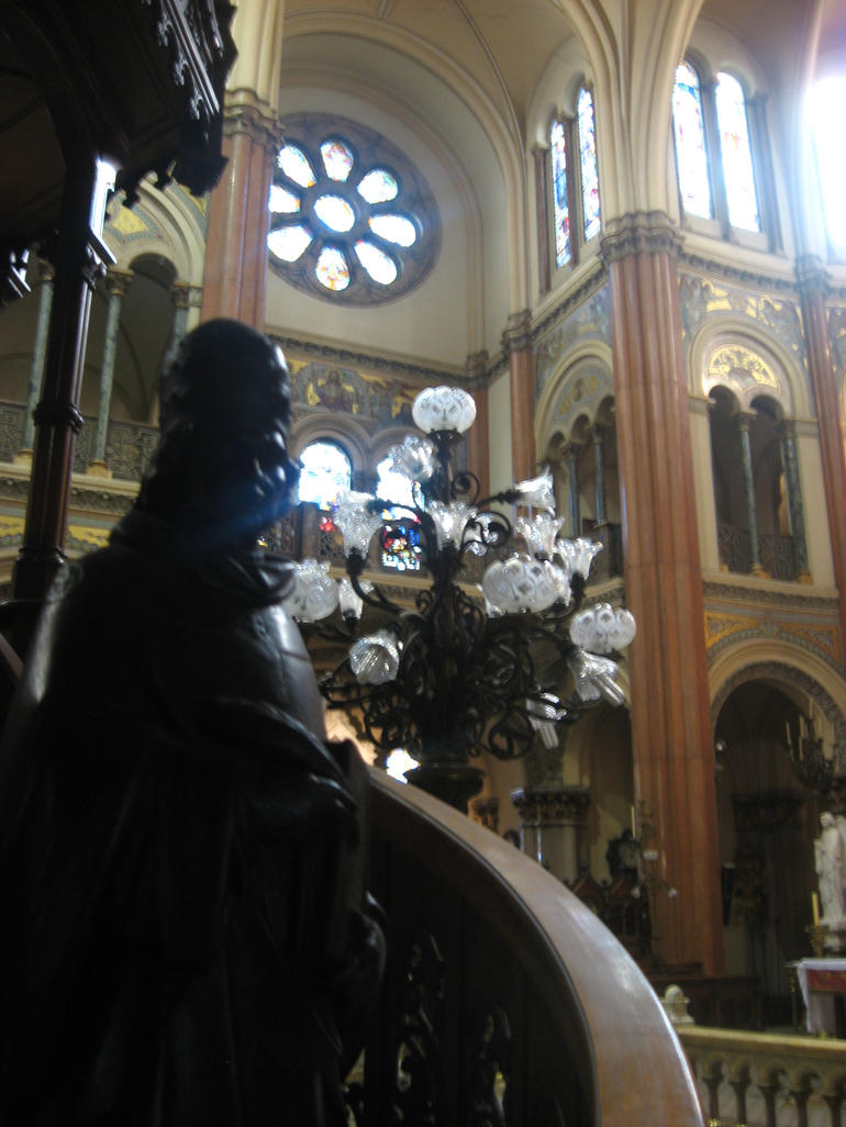 Inside the Church - Buenos Aires