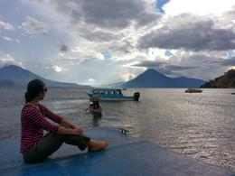 Dock at Hotel Atitlan , Mei-Lan O - December 2013