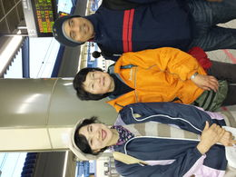 My husband living Nagano at the train station with the Best Tour Guide Mariko Endo. She and the other lady really made the tour amazing, we had a great time. Nagano is a beautiful Town must visit if..., Suddha U - April 2015