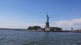 Statue of Liberty from the Boat , ThanatosBg - August 2016