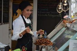 In the local market for a Cannoli. So GOOD! , J-Bird - October 2014