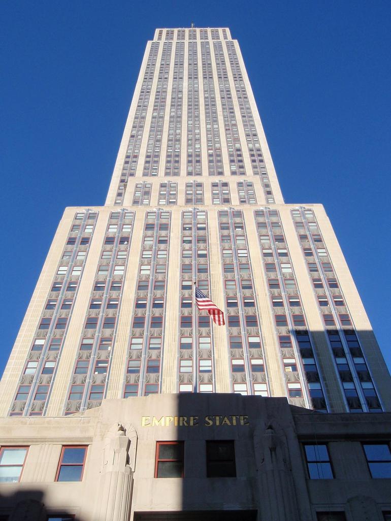 That big, It's the ESB. - New York City