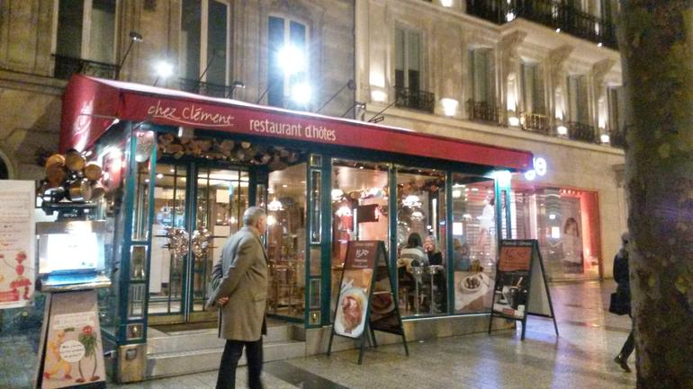 The restaurant on the Champs-Elysees - Paris