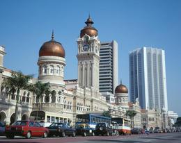 The Sultan Abdul Samad Building, Merdeka Square, Kuala Lumpur - July 2011