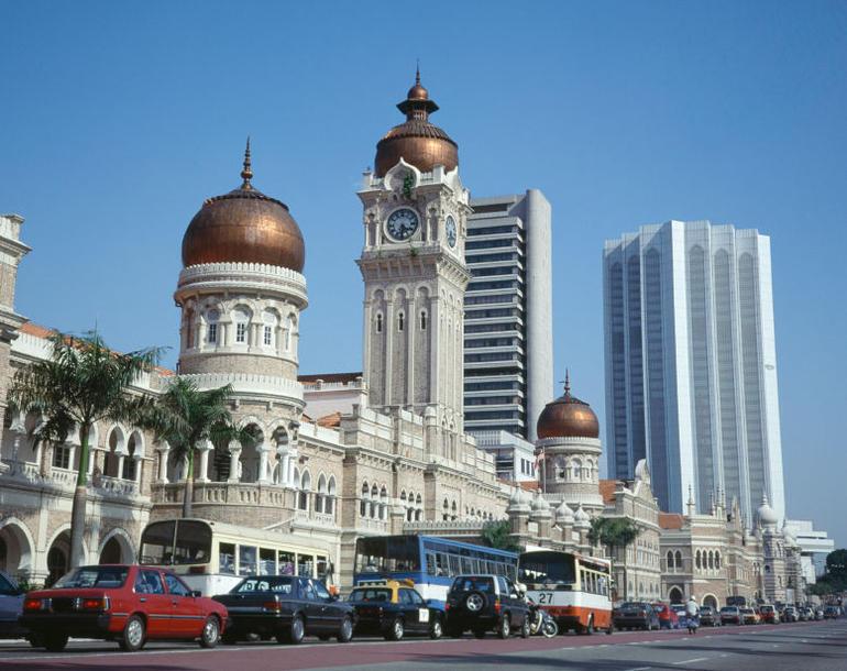 The Sultan Abdul Samad Building, Merdeka Square - Kuala Lumpur