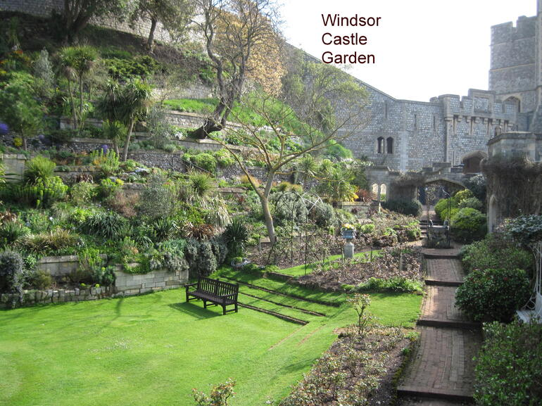 Windsor Castle Garden -