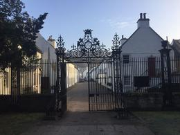 Gate from the Church to town in Perth , Colleen - March 2017