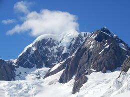 Just landed on Fox Glacier , Anne B - January 2018