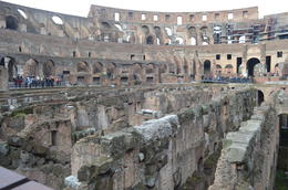 This is below where the floor of the Colosseum would have been , Linda J - January 2018