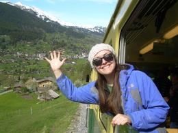 enjoying the amazing views on the way up the mountain. , Chelsea W - May 2012