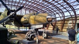Restored aircraft actually used in bombing the area. , Bill S - October 2015