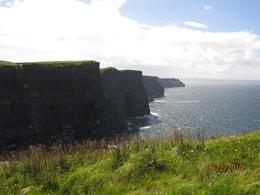 Cliffs of Moher, perfect sunny day. - August 2010