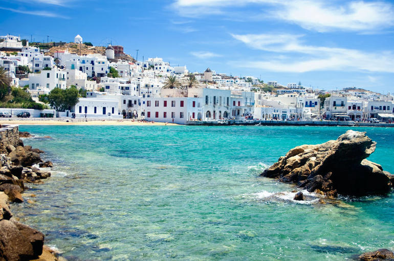 Coast of Mykonos - Athens