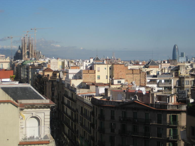 From roof of La Pedrera - Barcelona