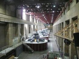 Generators inside the dam , Jennifer B - November 2011
