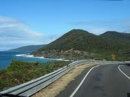 A look at the mountains and road, sky and sea., Behnam Akhavan - August 2011