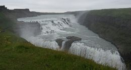The grand waterfall Gullfoss. Truly an amazing experience. , Florence C - August 2016
