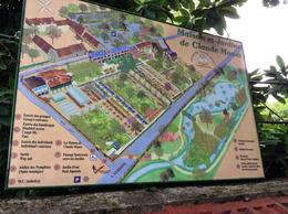 Entrance map to Monet's home and gardens. , Tobey G - July 2014