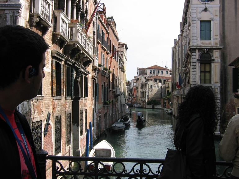 One of the many canals - Venice