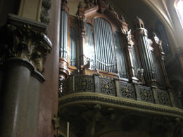 One of the world's largest organs - only the one in Notre Dame is bigger!, Bandit - June 2012
