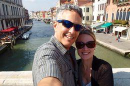 Rob and I on the Ponte delle Guglie in Cannaregio. , jfariello - September 2015