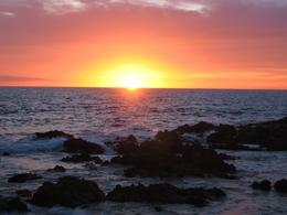 Sunset off the beach in Puerto Vallarta. Truly stunning. - April 2008