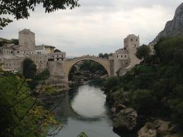 View of the famous Old Bridge in Mostar , Rob - October 2013