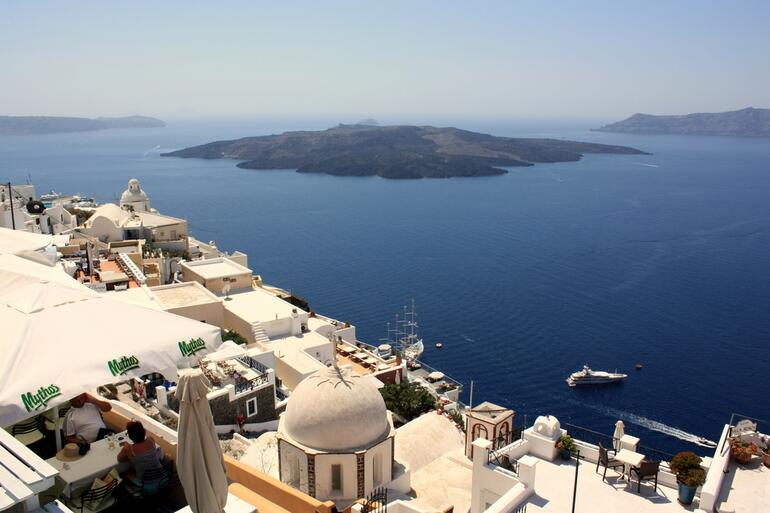 The view from Fira - Athens