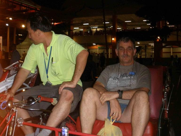Trishaw Ride - Singapore