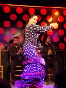 Flamenco dancing , Sarah C - February 2017