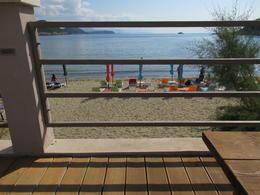 view of beach from restaurantsat Lupod. , william b - October 2017